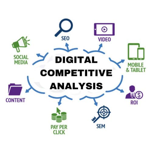 Digital Competitives Analysis in India