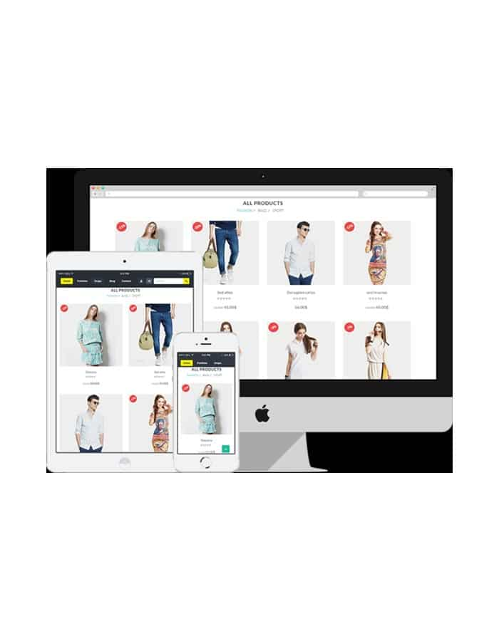 ECommerece Website Designing