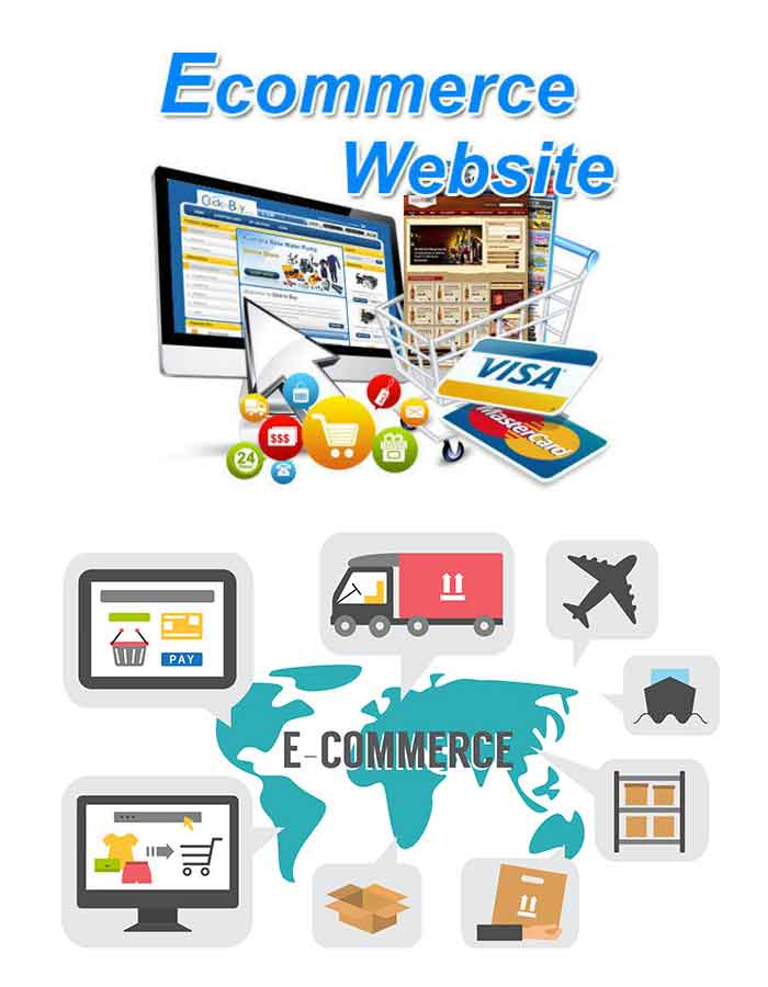 Ecommerece website design